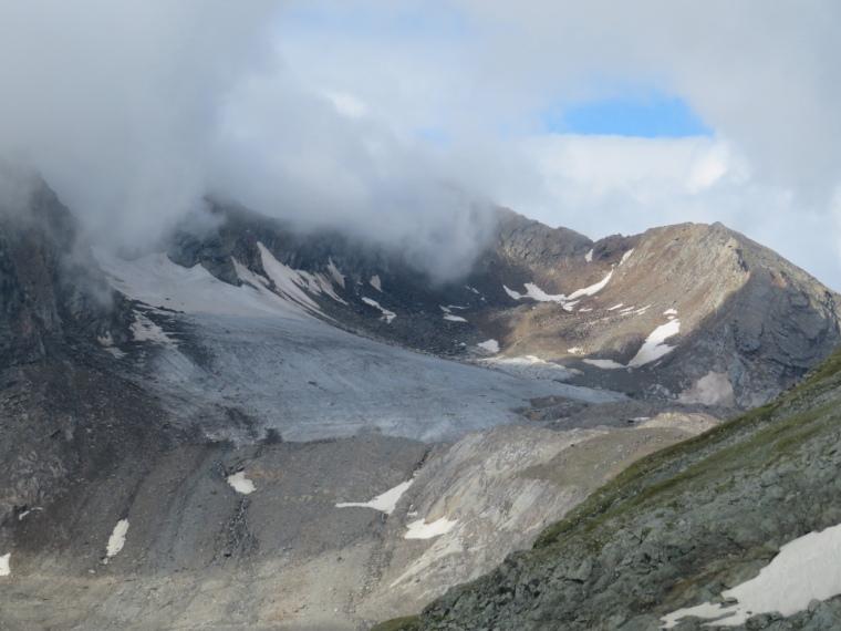 Austria Hohe Tauern, Granatspitze Ridge, North from Durrenfeld pass, Walkopedia
