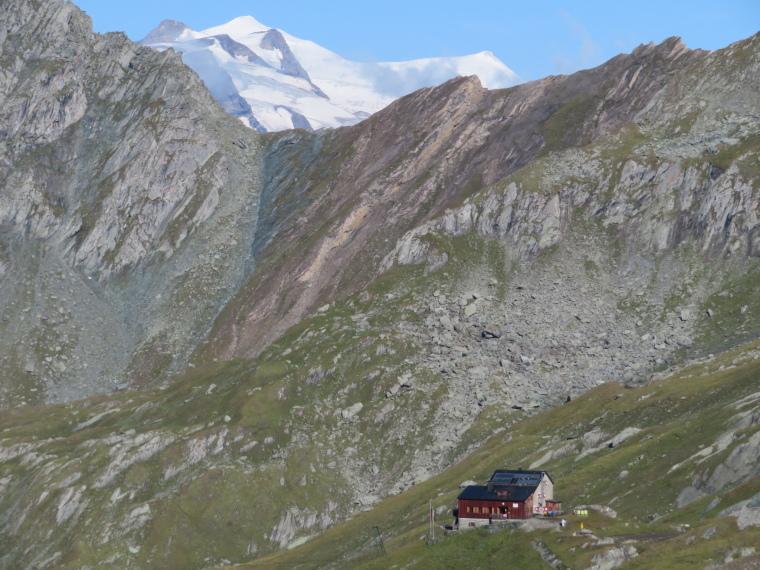 Austria Hohe Tauern, Granatspitze Ridge, Grossvenediger above the Sudetendeutscher Hut, Walkopedia