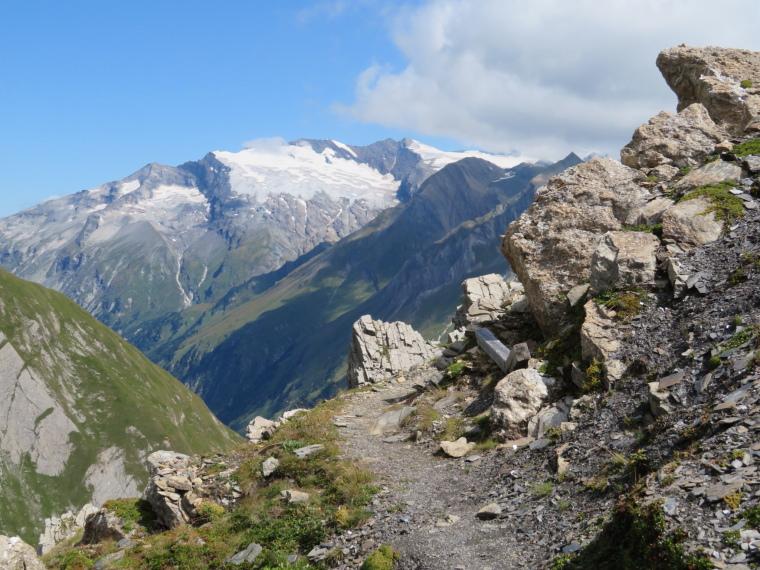 Austria Hohe Tauern, Granatspitze Ridge, Kals side alternative route, Walkopedia