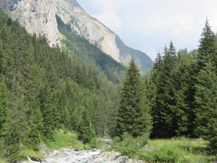 Austria Hohe Tauern, Above Virgental Valley, Lower Dorfer Tal, Walkopedia