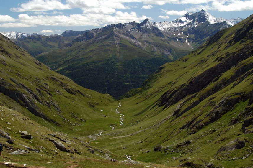 Above Virgental Valley: Timmeltal  - © wiki user JuTa