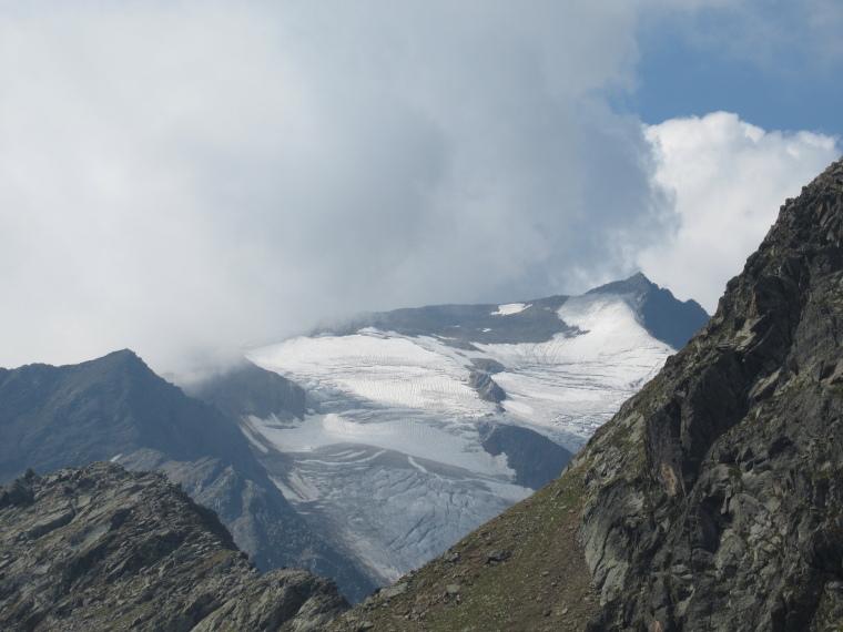 Above Nurenberger Hut; Mairspitze, Wilder Freiger: Wilder Freiger - © William Mackesy