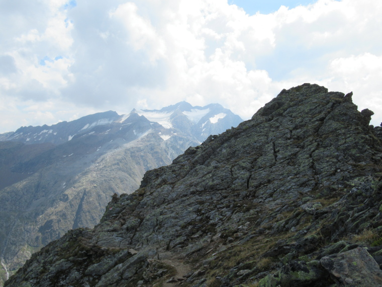 Mairspitze: From high Mairspitze ridge - © Will Mackesy