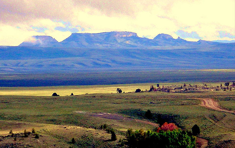 USA North-west, Great Basin Divide, Wyoming, Oregon Buttes , Walkopedia