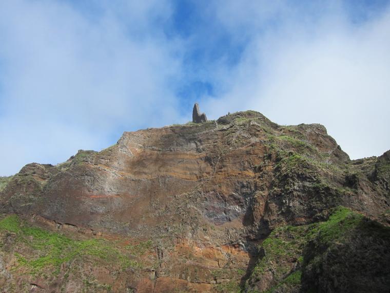 Pico Ruivo from Achado do Texeira: Ruivo southern flank - © William Mackesy