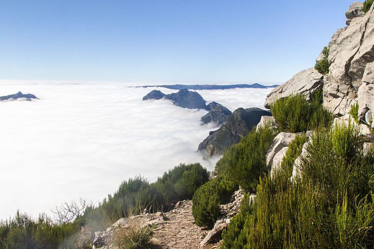 View from Pico Ruivo  - © Alexey Komarov