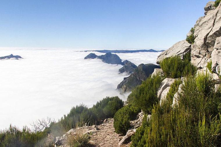 Pico Ruivo from Achado do Texeira: View from Pico Ruivo  - © Alexey Komarov