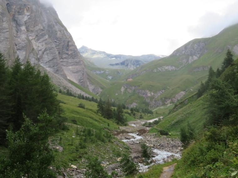 Above Kals am Grossglockner: Kodnitztal valley above Lucknerhaus - © William Mackesy