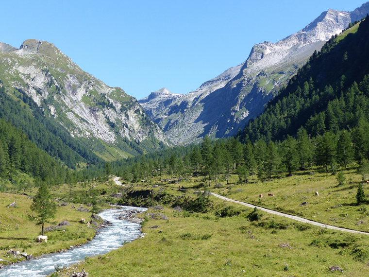 Above Kals am Grossglockner: Kalser Dorfertal  - © wiki user Whgler