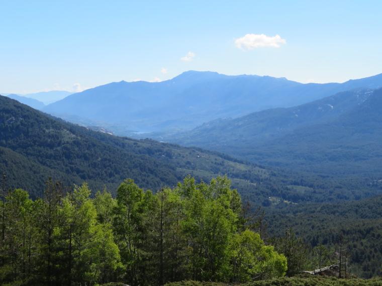 Evisa to Col de Vergio: Niellu valley from near Col de Vergio - © William Mackesy
