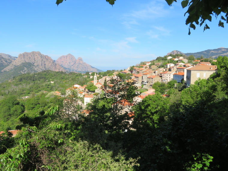 Evisa to Col de Vergio: Evisa from upper town - © William Mackesy