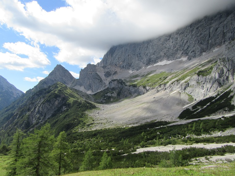 Northern Limestone Alps: Dachstein,  Pennerweg to Tor pass - © William Mackesy