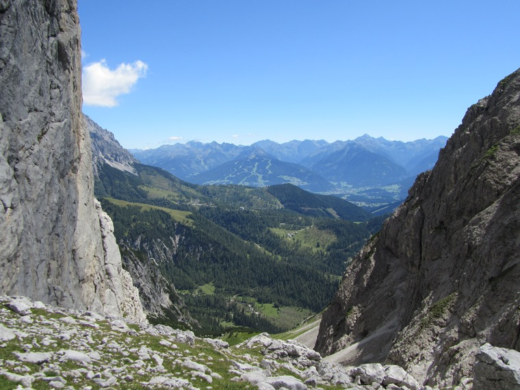 Northern Limestone Alps: Dachstein, Schladminger Tauern from Tor pass - © William Mackesy