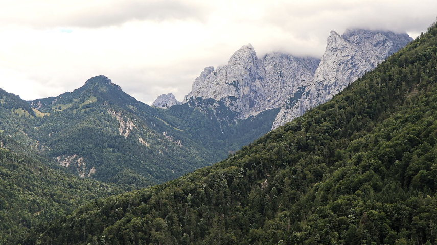 Kaisergebirge - Vorderkaiserfelden  - © wiki user Burkhard mucke