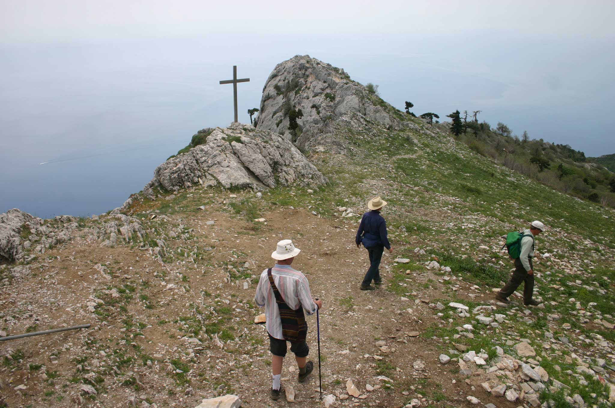 Mt Athos - Return Walk - © William Mackesy
