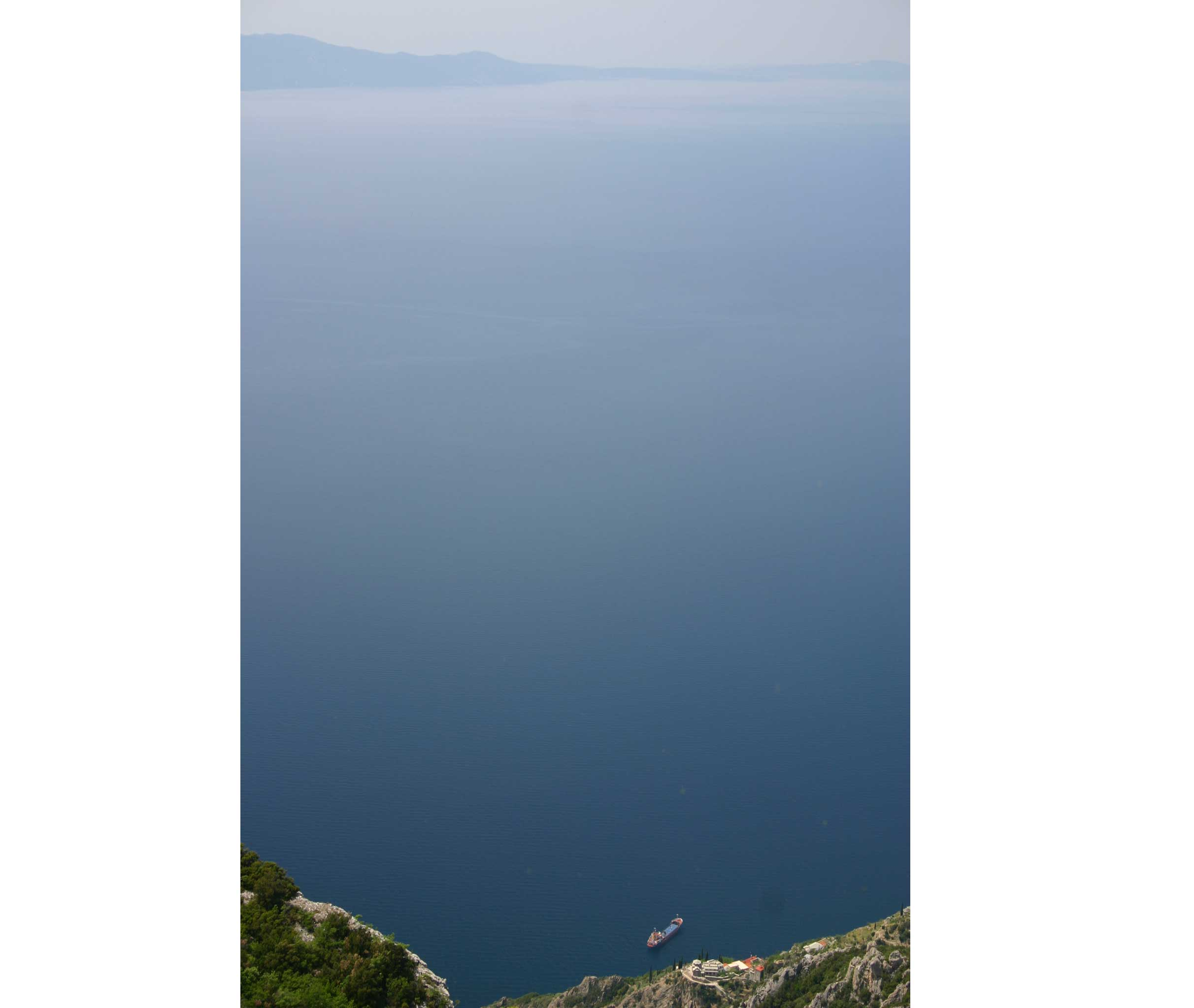 Mt Athos - Above Agia Anna - © William Mackesy