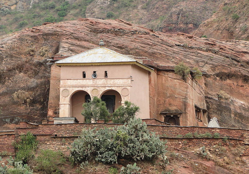 Tigray Rock Churches: Abreha_and_Atsbeha_Church - © wiki user Bernard Gagnon