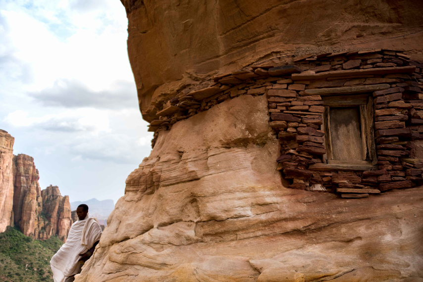 Tigray Rock Churches: Tigray Rock Window  - © Flickr user Rod Waddington