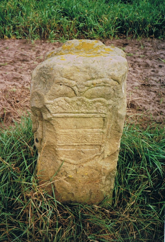 Netherlands East, Noaberpad, borderstone from the past, Walkopedia