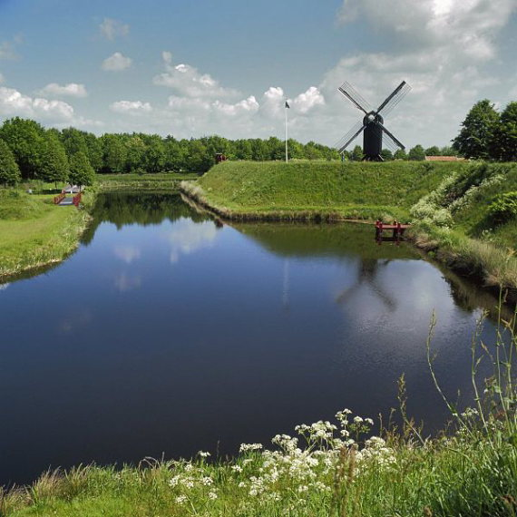 Netherlands East, Noaberpad, mill Bourtange, Walkopedia