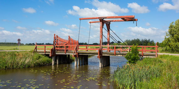 Sweden Jamtland, Jamtland, Bridge of a fortress, Walkopedia
