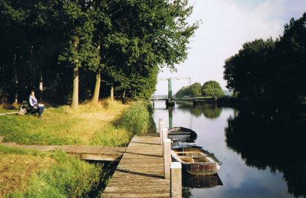 Sweden Jamtland, Jamtland,  Canal in the province of Groningen, Walkopedia