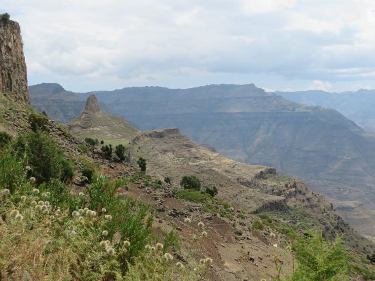 Ethiopia Lalileba Area, Around Lalileba, Fields beyond Ashetan Maryam, Walkopedia