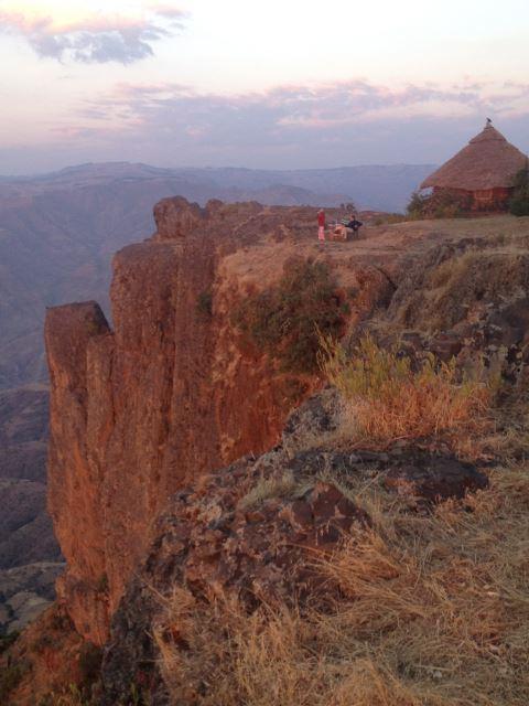 Ethiopia Lalileba Area, Around Lalileba, Wollo, Escarpment edge, Walkopedia