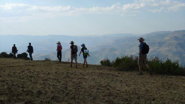 Ethiopia Lalileba Area, Around Lalileba, Wollo trek , Walkopedia