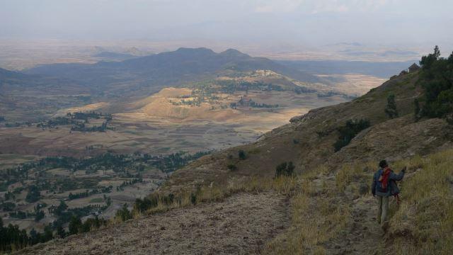 Ethiopia Lalileba Area, Around Lalileba, Wollo walk  , Walkopedia