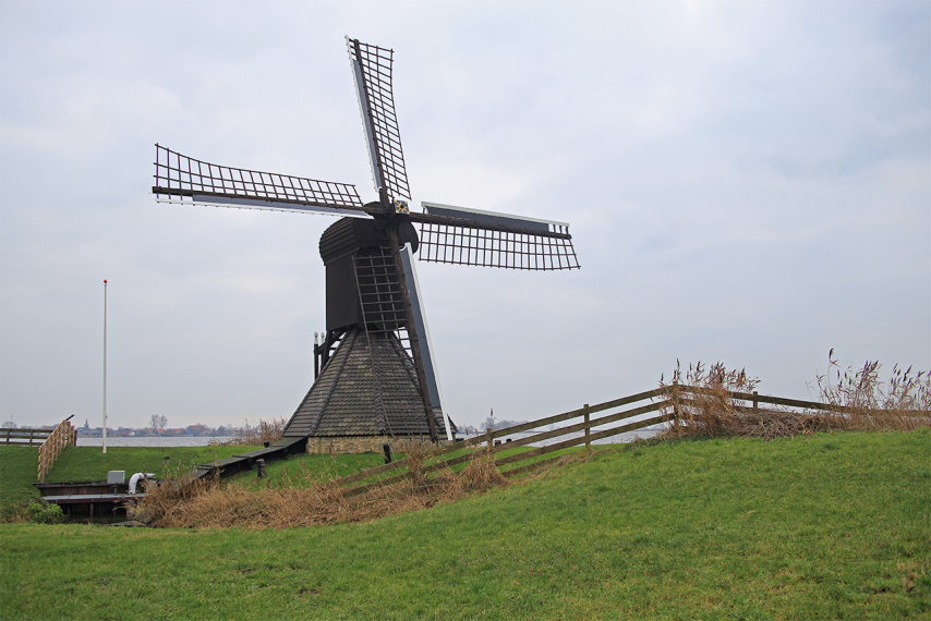 Greater Friesland Path: Doris Moolstje ( the mill of Doris, in Frisian language) - © Hans Plas