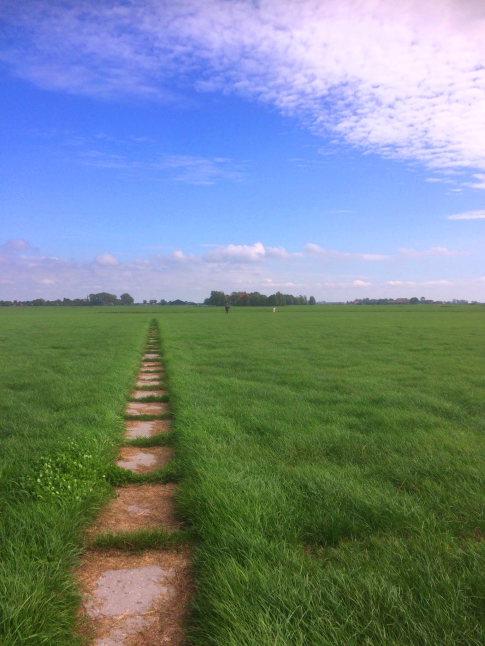 a church path in Friesland - © Hans Plas