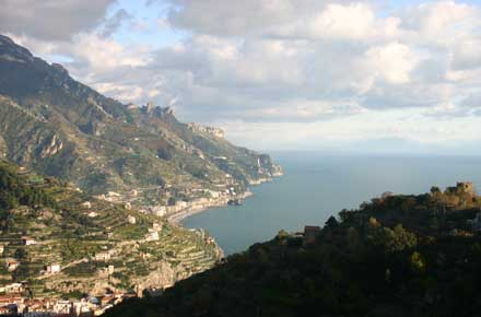 Italy Amalfi Coast, Around Ravello, Ravello - Along the Amalfi Coast, Walkopedia