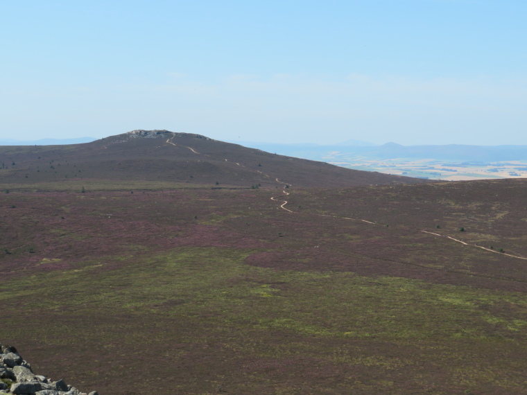 United Kingdom Scotland Aberdeenshire, Bennachie, Bennachie plateau from Mither Tap, Walkopedia