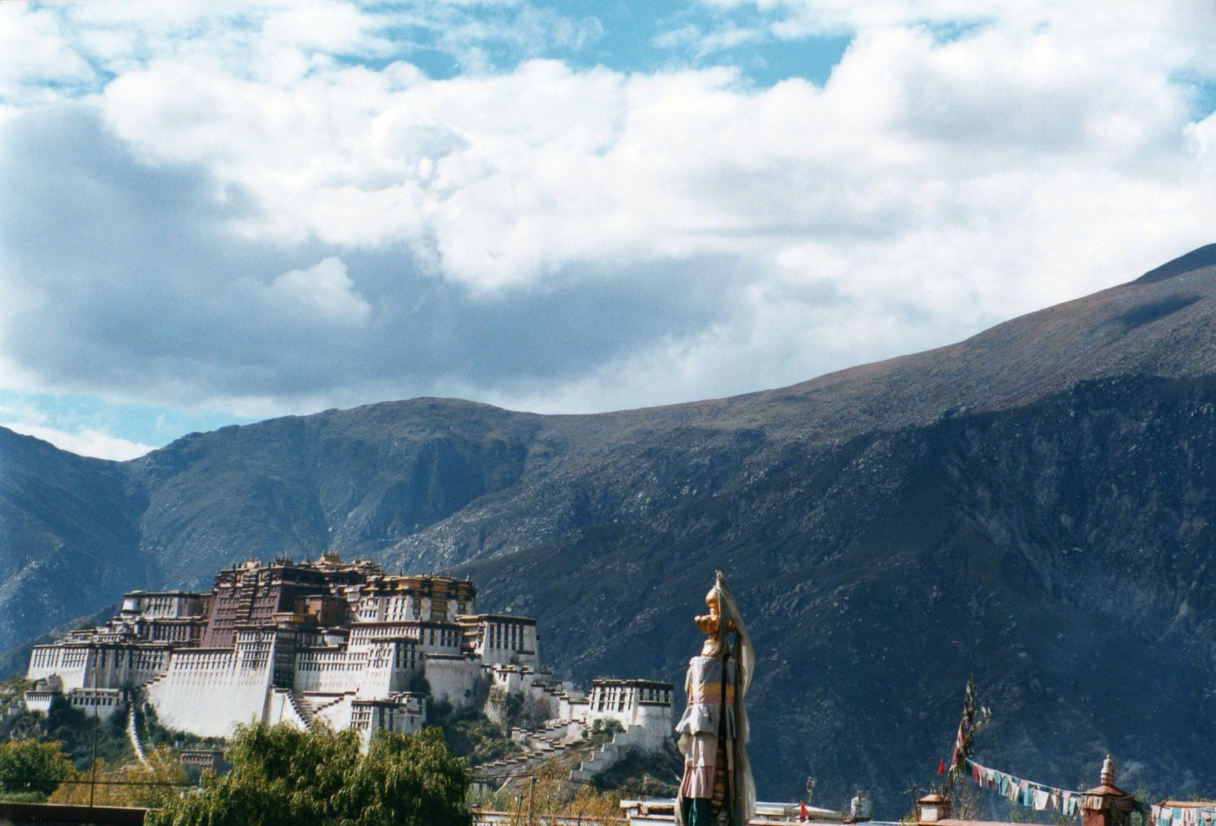 From the Jokhang - © William Mackesy