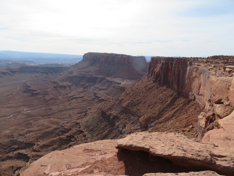 Grand View Point Overlook: Along the rim to Junction Butte - © William Mackesy
