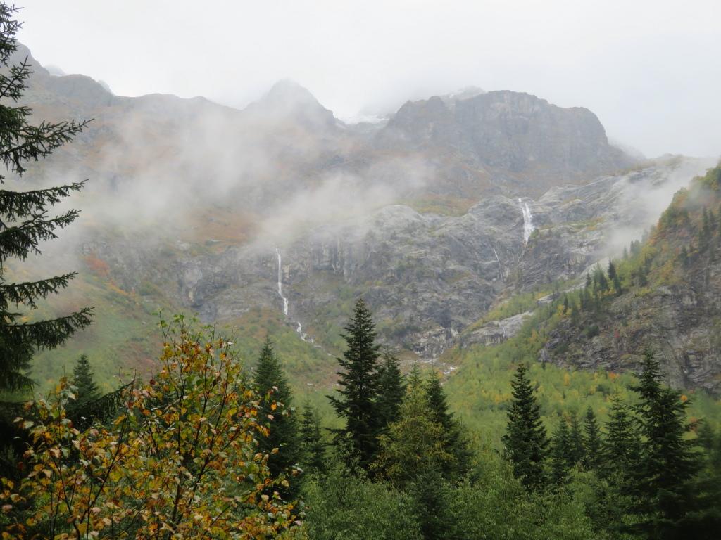 Georgia Gt Caucasus Svaneti, Becho Valley, Shdugra falls, Walkopedia