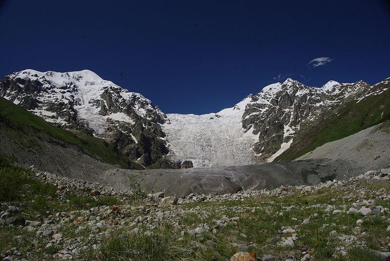 Mestia to Ushguli: Adishi Glacier - © Wikimedia Martin Lopatka