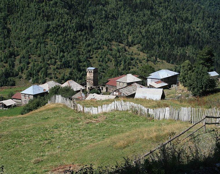 Mestia to Ushguli: Iprali - © Wikimedia Aleksey Muhranoff