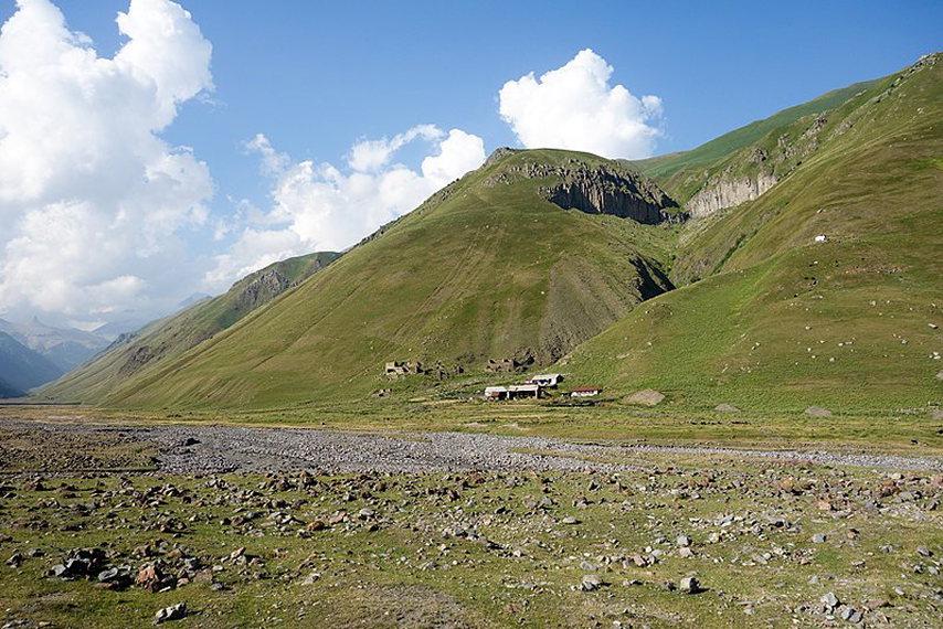 Truso Valley, Keli Plateau: Shevardeni Truso Valley - © Wiki Commons