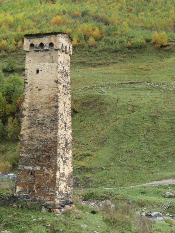 Svaneti Region: Ushguli - how has it stayed up for so many years - © William Mackesy