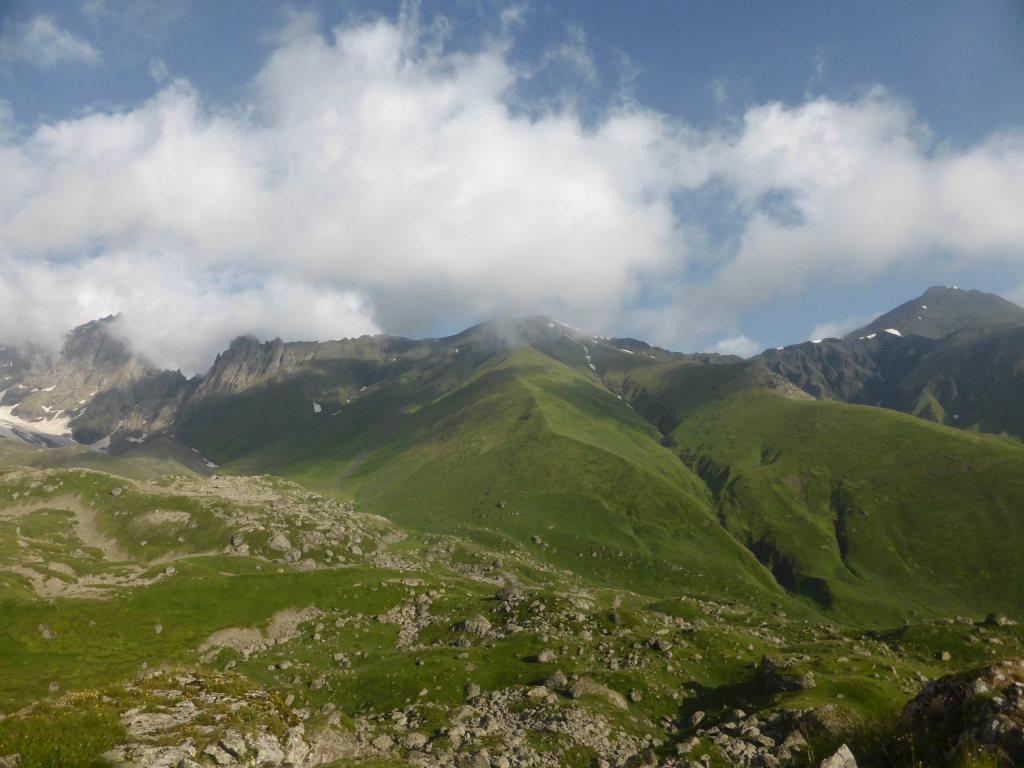 Khevi, Kazbegi and the Military Highway : Chaukhi pass - © Nick Ince
