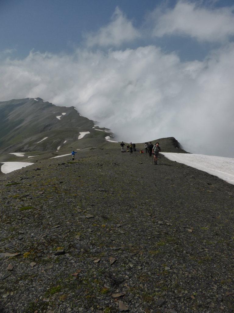 Khevi, Kazbegi and the Military Highway : Ridge to Chaukhi pas - ©  Nick Ince