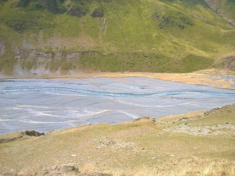 Georgia Gt Caucasus Tusheti and Khevsureti, Tusheti and Khevsureti, River Pirikiti Alazani, Walkopedia