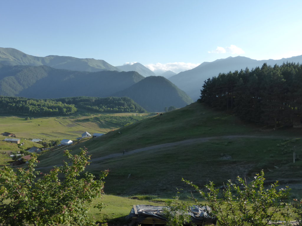 Tusheti and Khevsureti