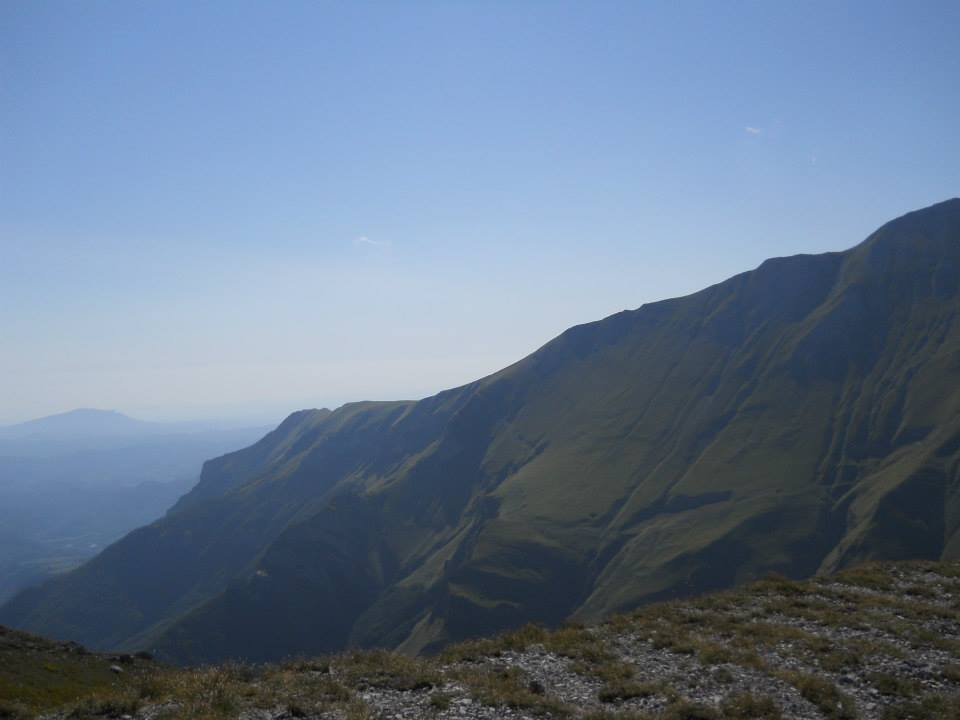 Monte Priora east ridge seen from the Forcella Angagnola. - © Wikimedia FedeGrad
