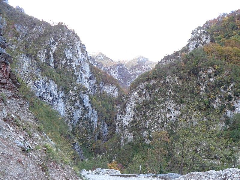 Italy Sibillini, Gola dell'Infernaccio, Gola dell'Infernaccio, Walkopedia