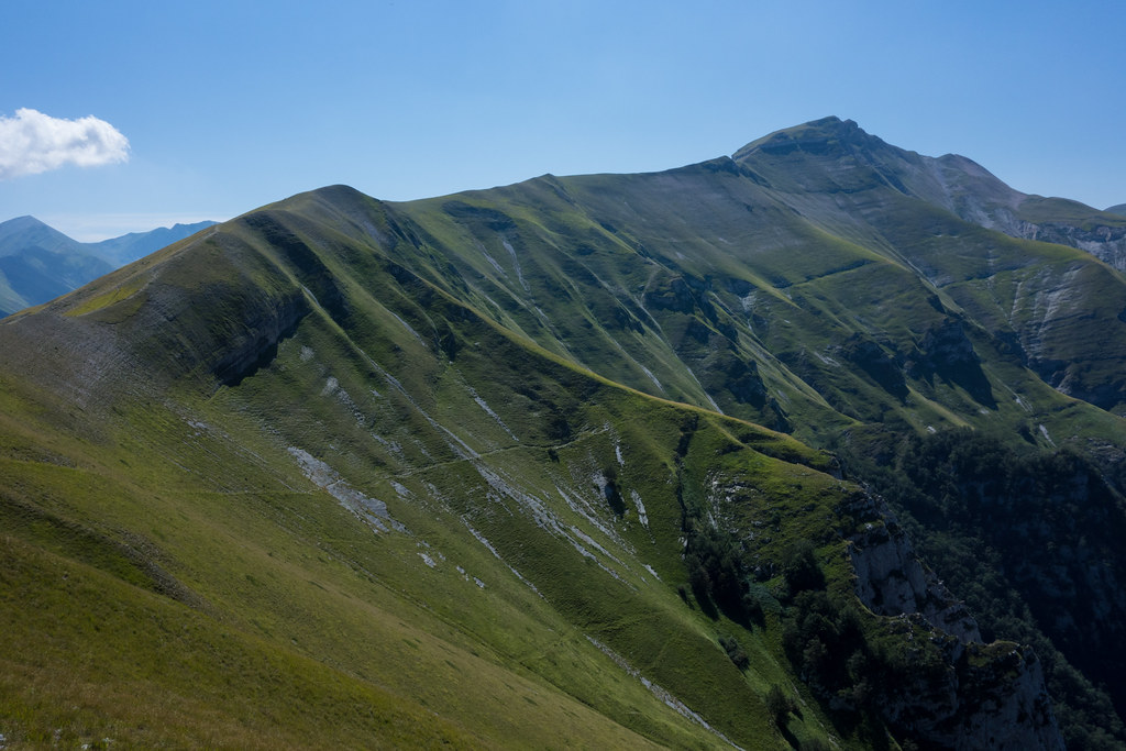 The Sibillini Traverse : Mt Sibilla  - © Flickr user Marcel Oosterwijk