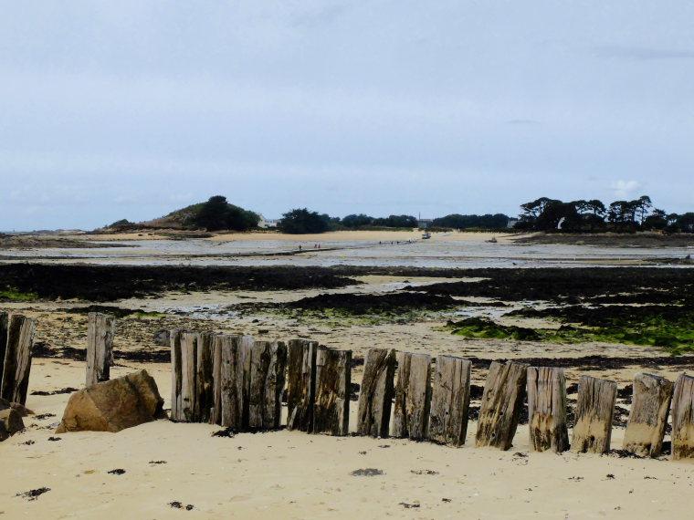 France Brittany, Carantec, Ile de Callot, l'ile Callot, Walkopedia