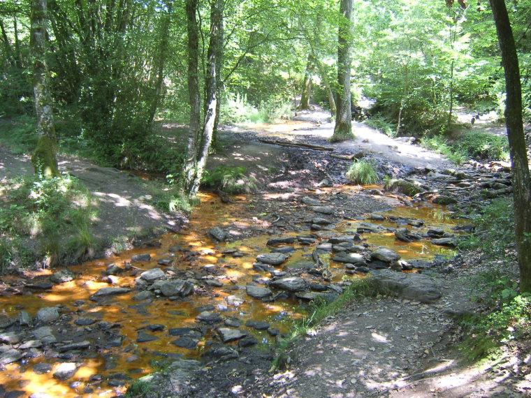 France Brittany, Forest of Paimpont; Val sans Retour, Val sans Retour c, Walkopedia
